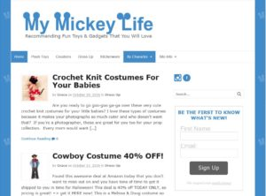 My Mickey Life Blog