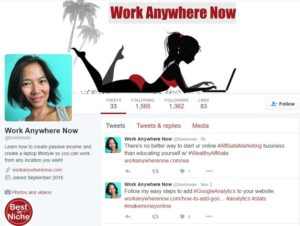 Work Anywhere Now's Twitter Account