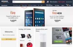 Amazon's Today's Deals