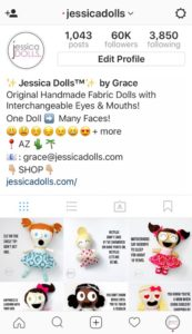 Jessica Dolls™ Instagram Account