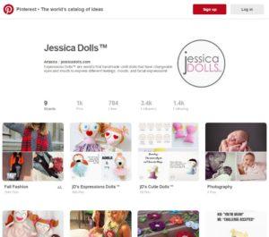Jessica Doll's Pinterest Account