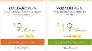 Massplanner pricing