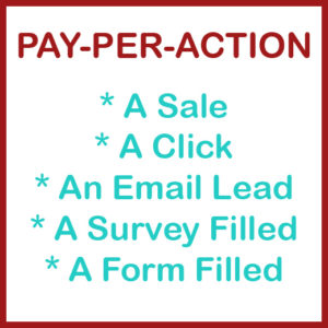 Pay Per Action Samples