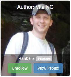 VitaliyG - Vitaliy at Wealthy Affiliate