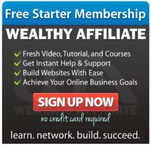 Wealthy Affiliate sign up now