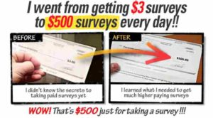 Take Surveys for Cash $3 to $500 a survey