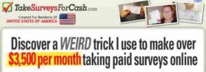 Take Surveys for Cash $3500/month