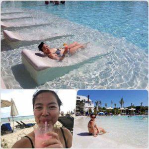 Pool & Beach at the Ocean Riviera Paradise Hotel