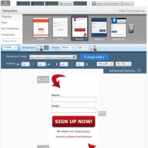 AWeber - Sign Up Forms