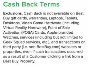 Best Buy Cash Back Terms at Ebates.com