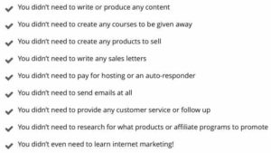CB Passive Income Imagine What You Won't Need To Do List