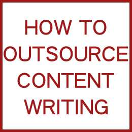 How To Outsource Content Writing