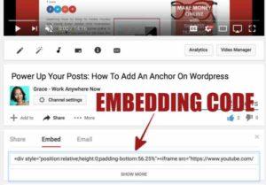 YouTube Video Embedding Code