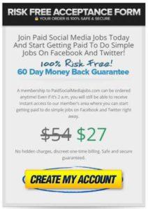 Paid Social Media Jobs $27