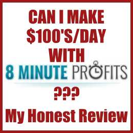 Can I Make $100's:day with 8 Minute Profits??? My Honest Review