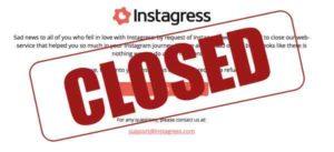 Instagram shuts down Instagress