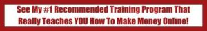 My #1 Recommended Training Program That Really Teaches You How To Make Money Online