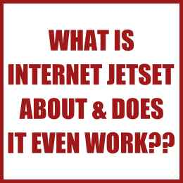 What is Internet Jetset about & does it even work?
