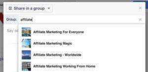 Facebook Enter Name Of Group