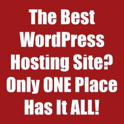 The best wordpress hosting site only one place has it all