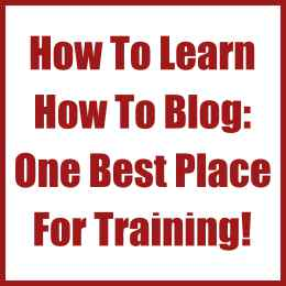 How To Learn How To Blog- One Best Place For Training! Feature
