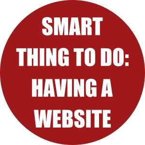 Smart Thing to do- having a website