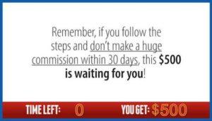 Countdown To Profits Make Big Bucks or $500