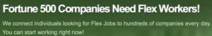 My Flex Job - Fortune 500 Companies claim