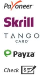 ClixSense Payment Options
