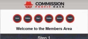 Commission Profit Hack Members' Area