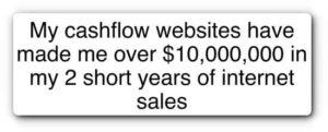 Copy My CashFlow $10000000 in 2 years