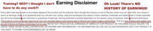 Copy My CashFlow Earnings Disclaimer