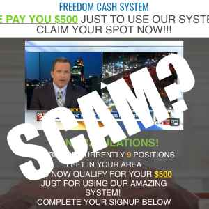 Freedom Cash System Scam