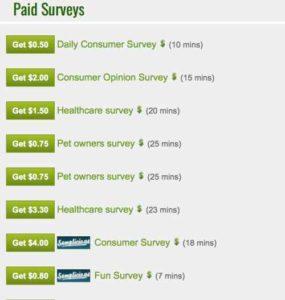Fusion Cash Paid Surveys
