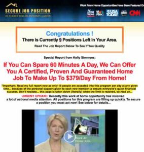 Home Profit System Old Home Page on Another Site