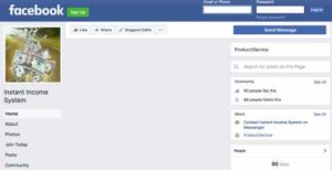 Instant Income Sytem FB Page