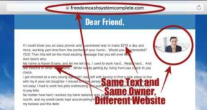 Instant Income Sytem Fake Owner On Freedom Cash