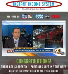 Instant Income Sytem Same Webpage