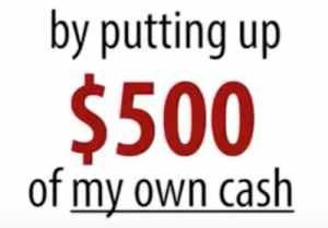 My Millionaire Mentor $500 guarantee