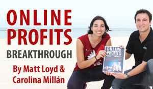 My Millionaire Mentor Carolina Millan with Matt Lloyd