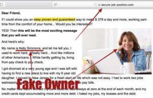 Secure Job Position Fake Owner