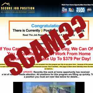 Secure Job Position SCAM?