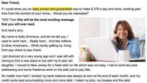Secure Job Position Same Friend Letter