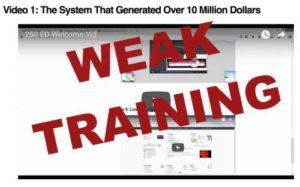 $250 Online Every Day Has Weak Training