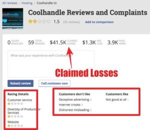 700 Profit Club Coolhandle has bad ratings