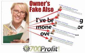 700 Profit Club Fake Owner
