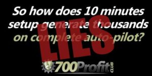 700 Profit Club Lies