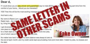 Automated Daily Income Dear Friend Letter