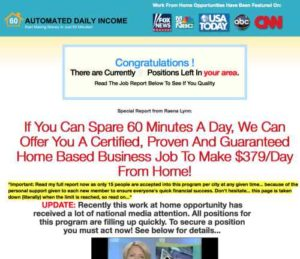 Automated Daily Income home page 2