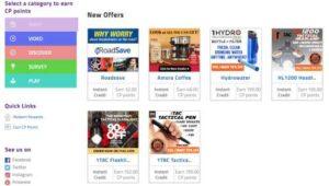 ClickPerks Shopping Offers
